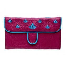Portefeuille femme coloré