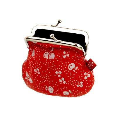 Petit porte-monnaie red Cherry