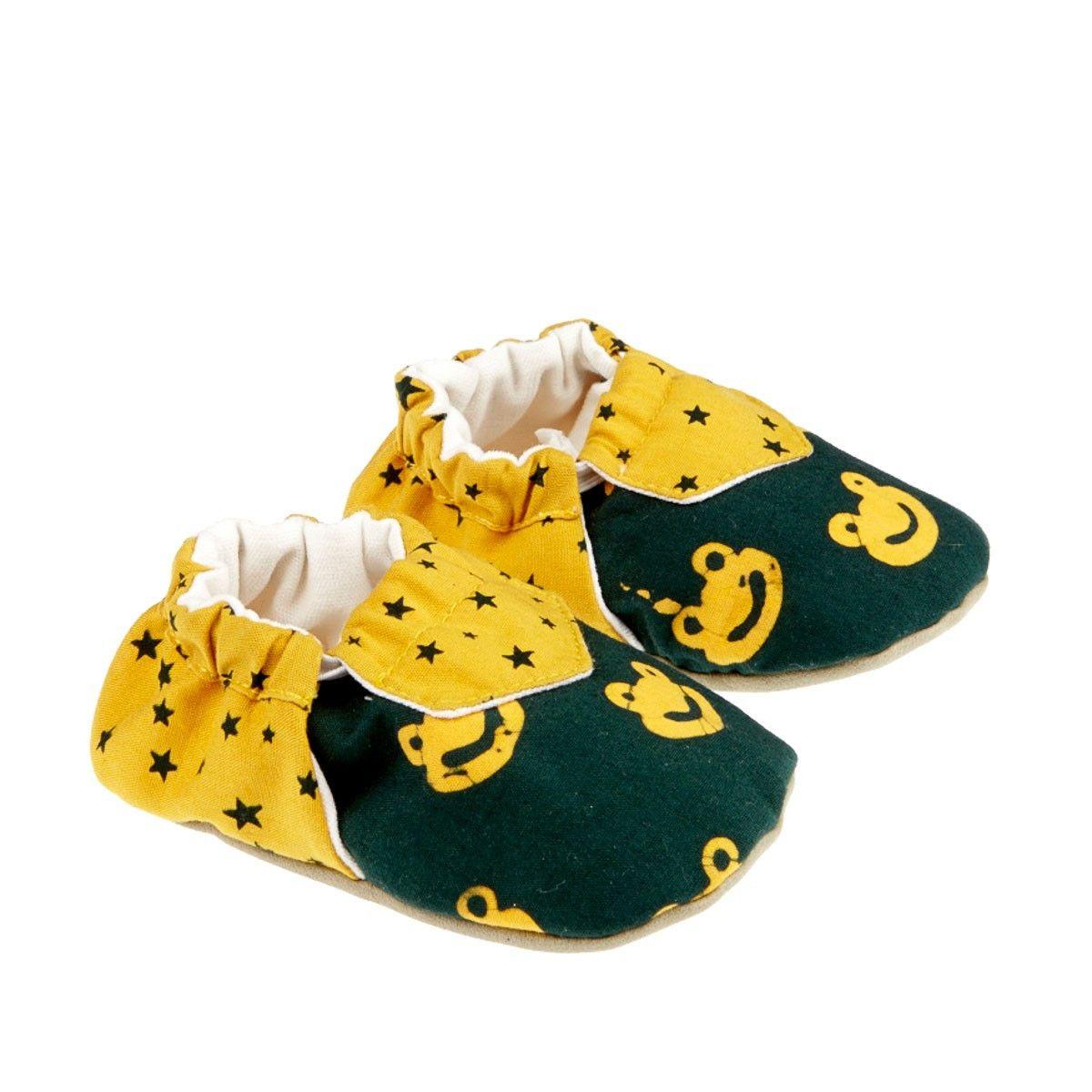 Chaussons bébé garçon souples