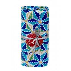 Coupon tissu estrella bleu