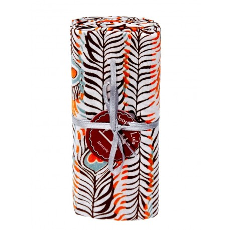 Coupon tissu pikok orange