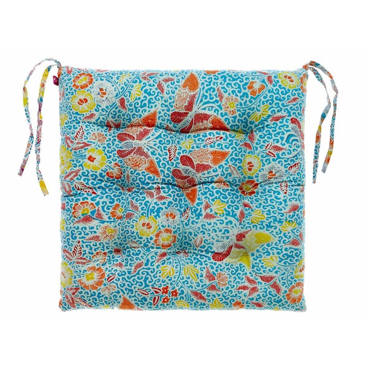 Galette de chaise Butterfly