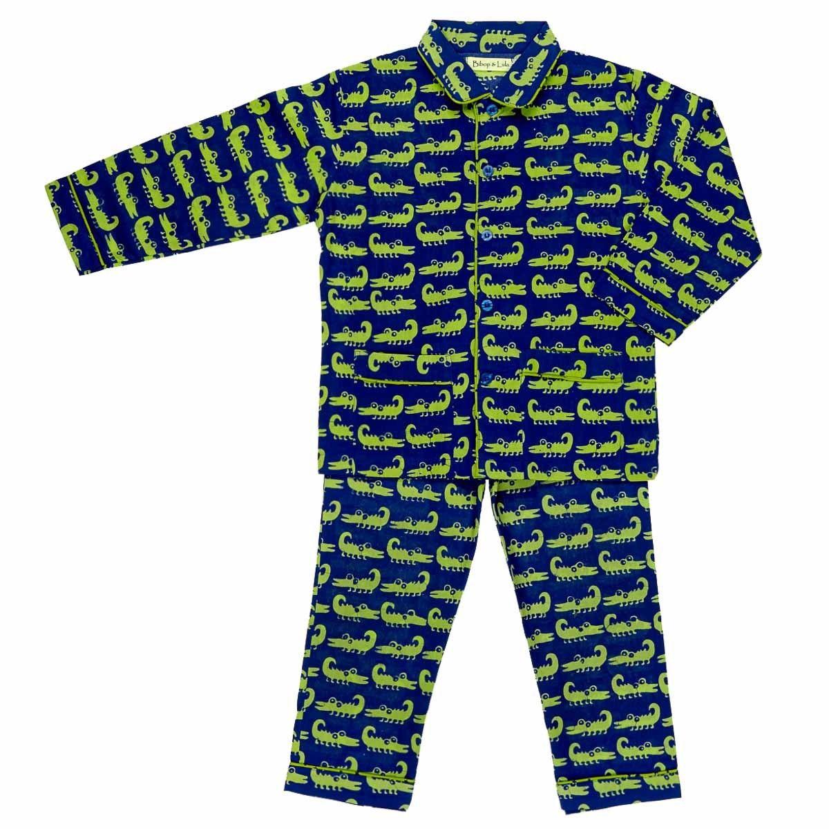 Pyjama enfant coton crocodile