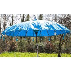 Parasol balinais toile imperméable diam:190cm