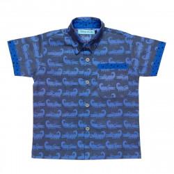 Chemise garçon 2-8 ans crocodile