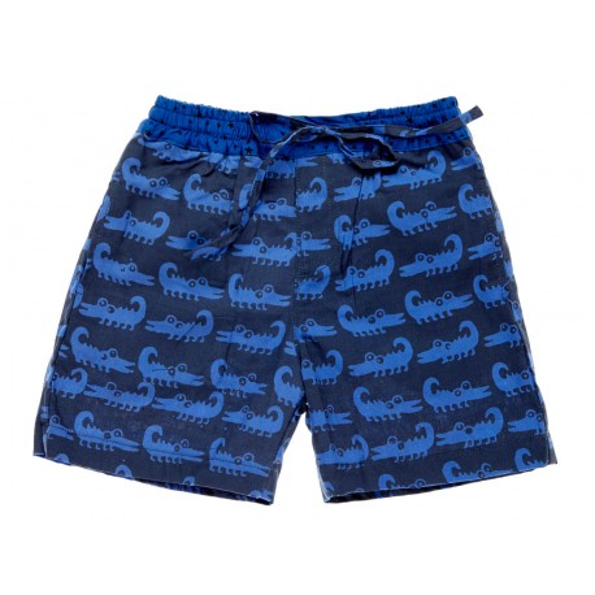 Short de bain 2-8 ans crocodile bleu