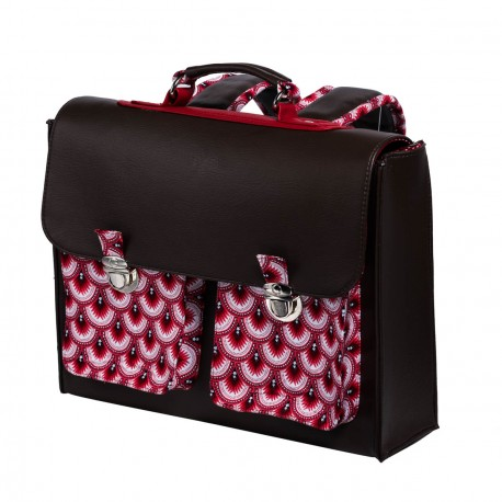 Cartable primaire rouge Api