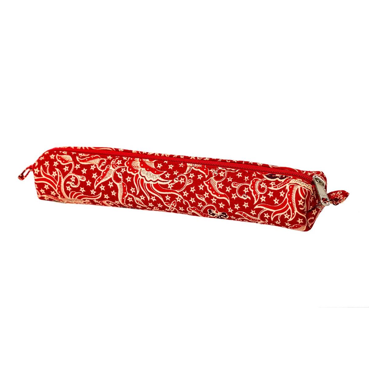 Petite trousse tissu original Nao rouge