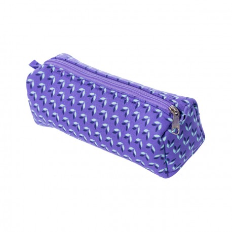 Trousse tissu original April violet