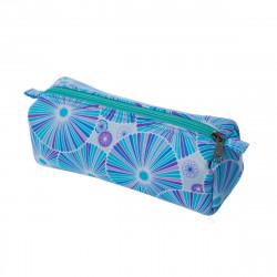 Trousse tissu original fantaisie Rosalie bleu