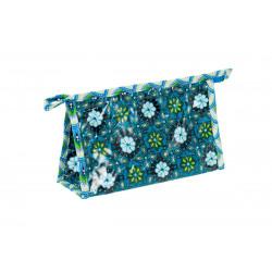Petite trousse de toilette tissu original Manggis bleu
