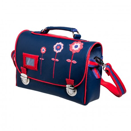 Cartable maternelle fille bleu Lily