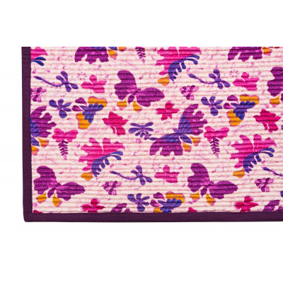 Tapis Papillons violets