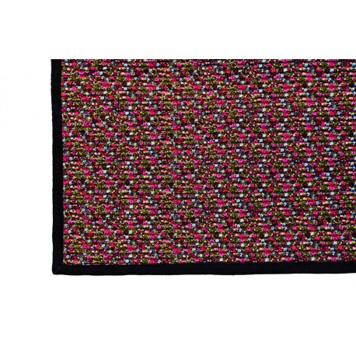 Tapis déco chambre bureau tissu coloré Sweety
