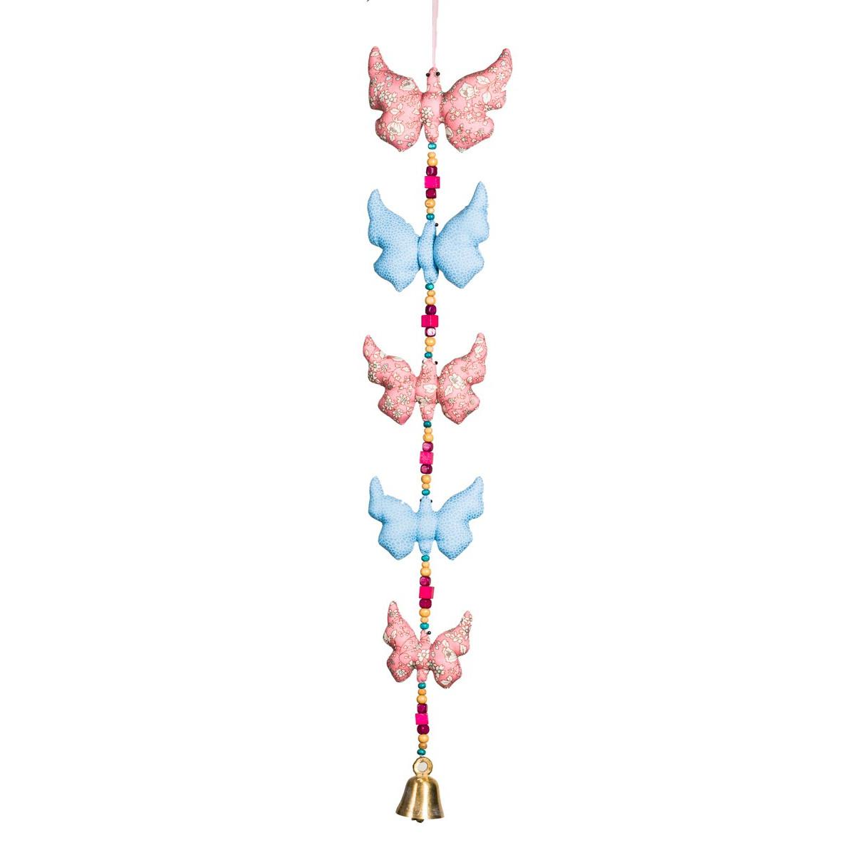 Mobile déco chambre fille Papillons