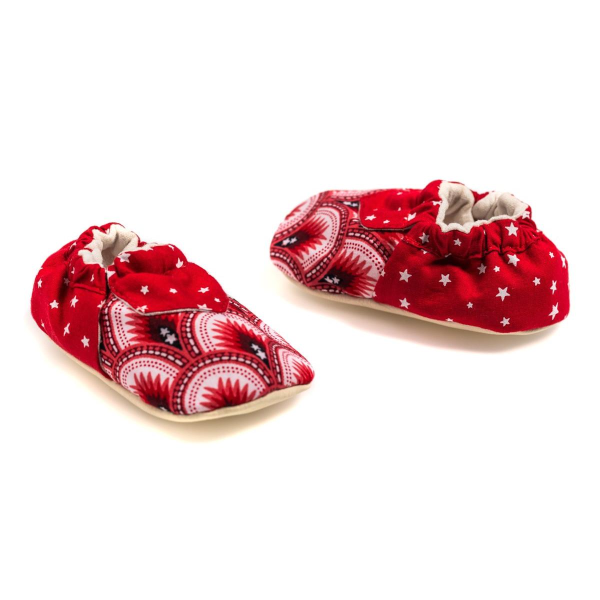 Chaussons souples de naissance 0-12 mois Api