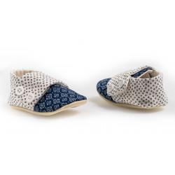 Chaussons souples de naissance 0-12 mois Filémon
