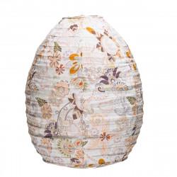 Lampion tissu ruche Bohème