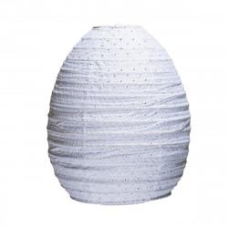 Lampion tissu ruche Broderie