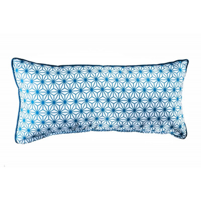 Coussin rectangle Asanoha nuit