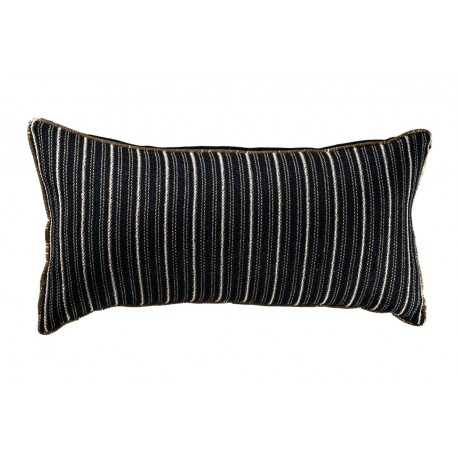 Coussin rectangle Black gold