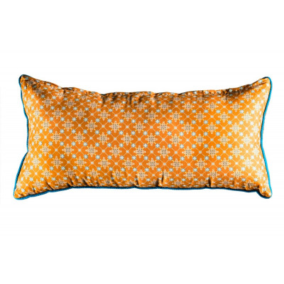 Coussin rectangle Najima ocre