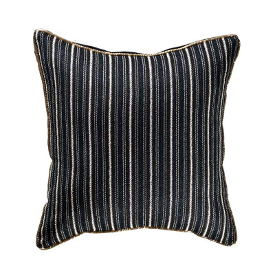 Coussin Black gold