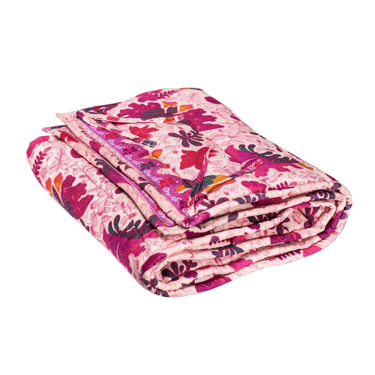 Tour de lit à barreaux bébé tissu créateur Papillons roses