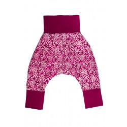 Sarouel fille 6-24 mois coton rose