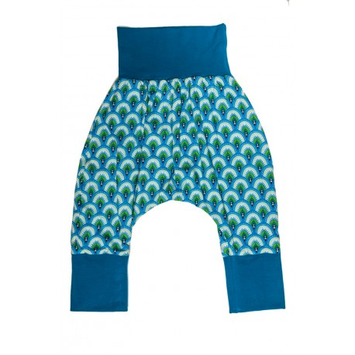 Sarouel bébé 6-24 mois coton bleu