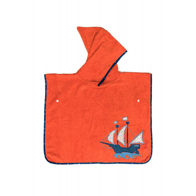 Poncho de bain Pirate