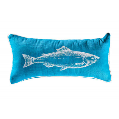 Coussin rectangle Blue fish
