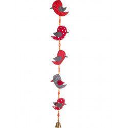 Le mobile clochette Oiseaux