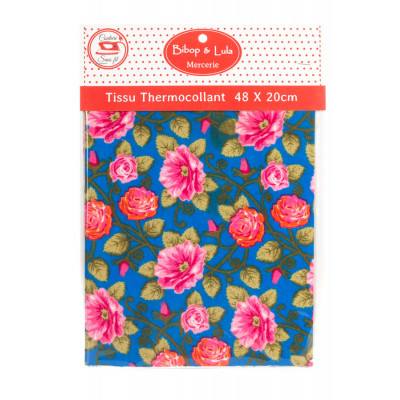 Tissu thermocollant English garden