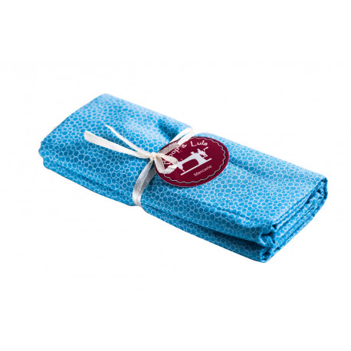 Coupon tissu Blue bubble
