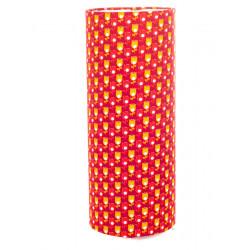 Lampe tube à poser Tulipe rouge