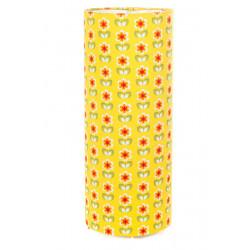 Lampe tube à poser Daisy jaune