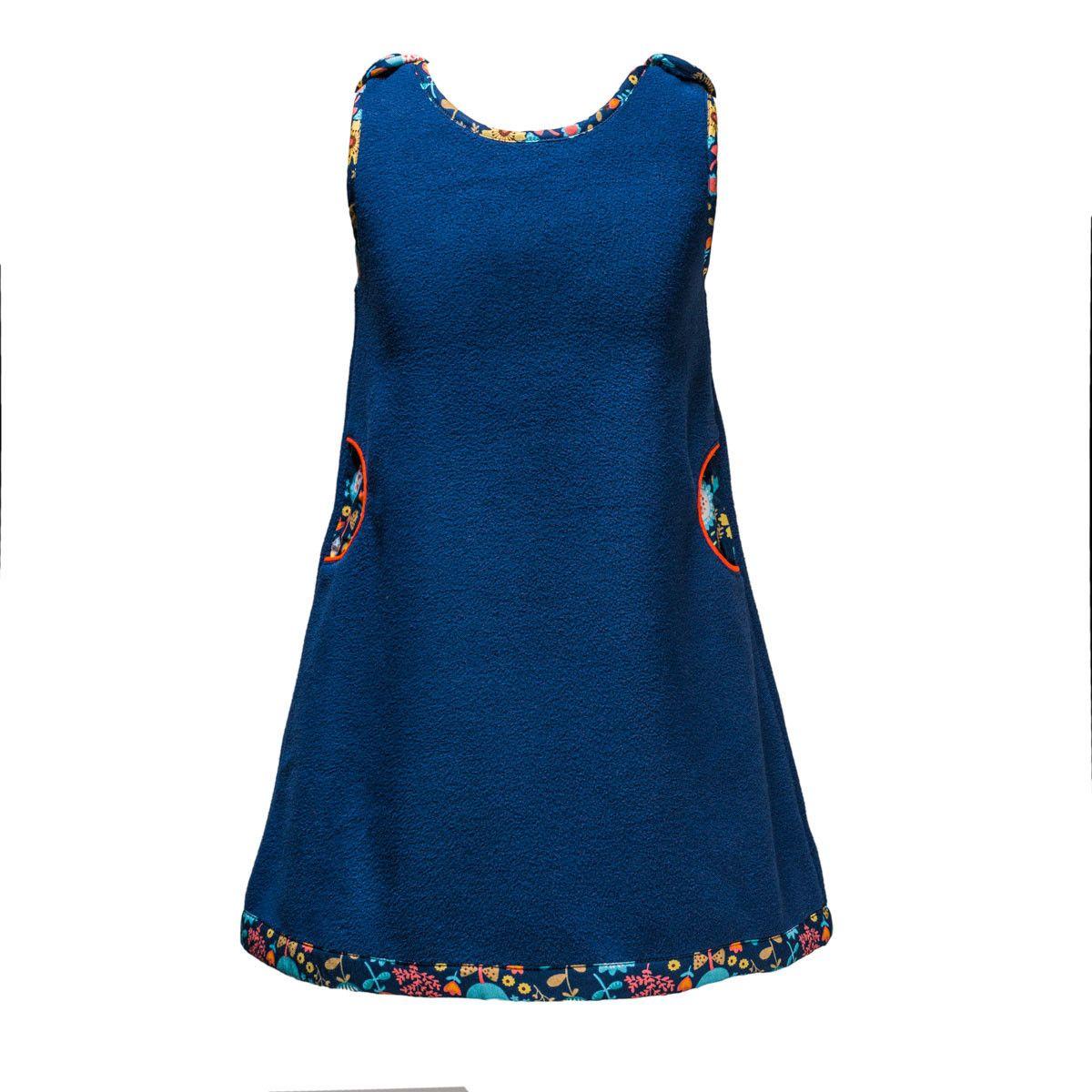 Robe polaire Becky bleue