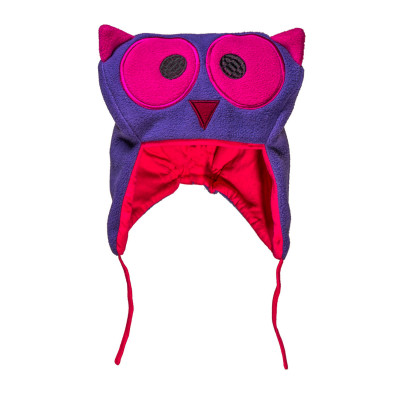 Bonnet hibou rose
