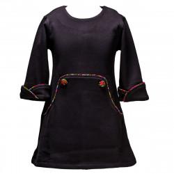 Robe hiver Louisa noire