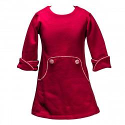 Robe hiver Louisa prune