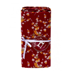 Coupon tissu Hanami prune