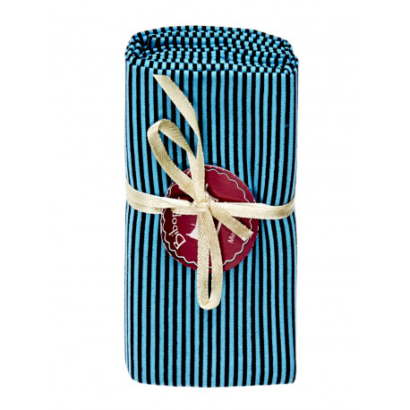 Coupon tissu Blue stripes