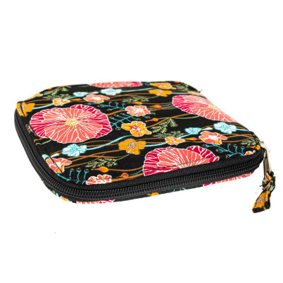 Sac de courses pliable Poppies
