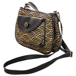 Petit sac besace Nami black gold