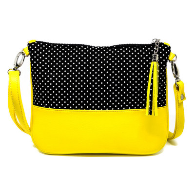 Sac à main manis Black dots