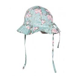 Chapeau de soleil bébé réglable Hanae