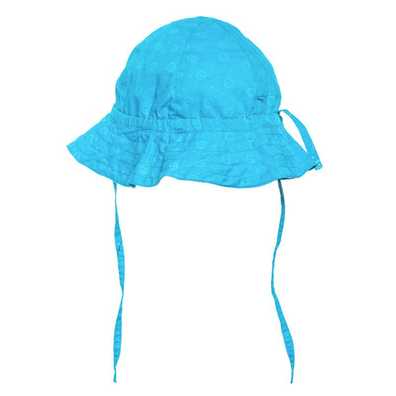 achat original belle qualité Design moderne Chapeau de soleil bébé coton réglable bleu fushia