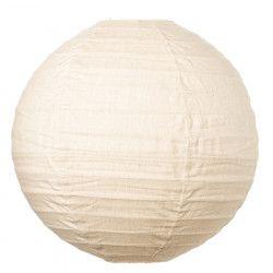 Lampion tissu boule japonaise rond Lin