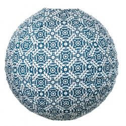 Lampion tissu boule japonaise rond Mata